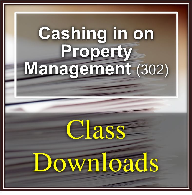 Cashing in on Property Management (302)