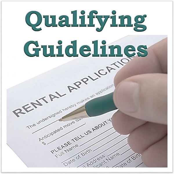 <h4>Qualifying Guidelines</h4>