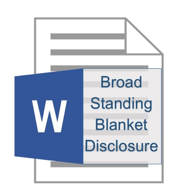 broad-standing-blanket-disclosure-icon
