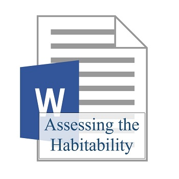 Assessing the Habitability (two documents) 350