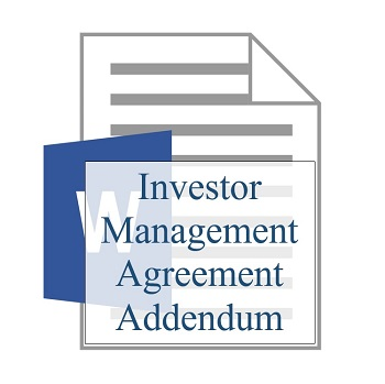 Investor Management Agreement Addendum 350