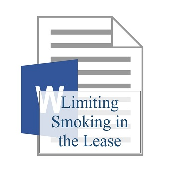 Limiting Smoking in the Lease 350
