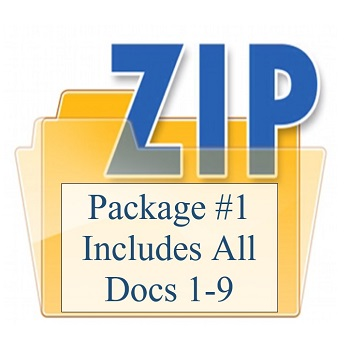 Package #1 Includes All Docs 1-9 350