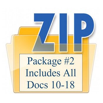 Package #2 Includes All Docs 10-18 350