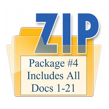 Package #4 Includes All Docs 1-21 350