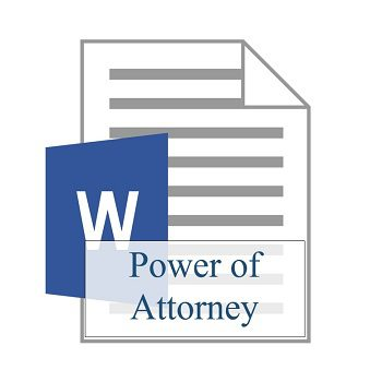 Power of Attorney 350