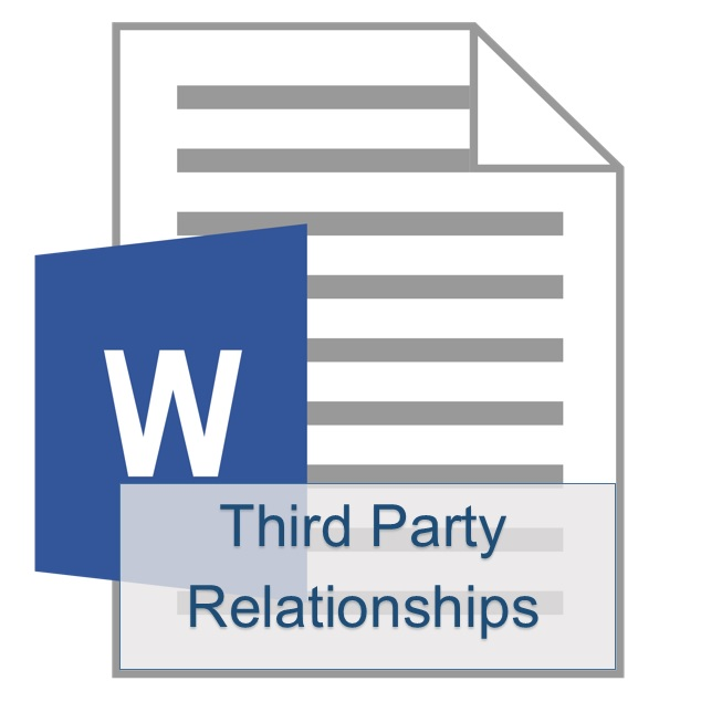 Third Party Relationships