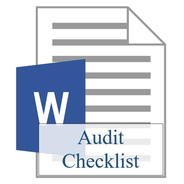 Audit Checklist - Resident Sign Up - Training Property Managers LLC