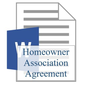Homeowner Association Agreement - Resident Sign Up - Training Property Managers LLC