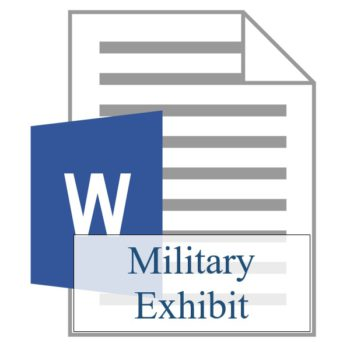 Military Exhibit - Resident Sign Up - Training Property Managers LLC