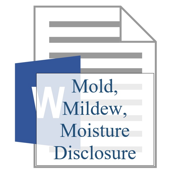 Mold Mildew Moisture Disclosure - Resident Sign Up - Training Property Managers LLC