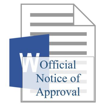 Official Notice of Approval - Resident Sign Up - Training Property Managers LLC