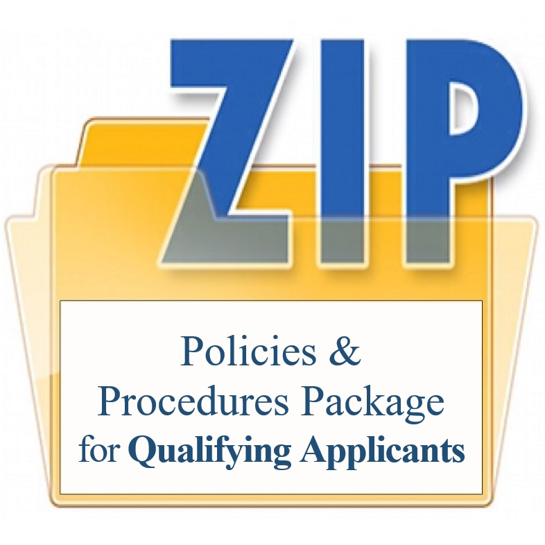 Policies and Procedures Package for Qualifying Applicants