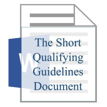 The Short Qualifying Guidelines Document