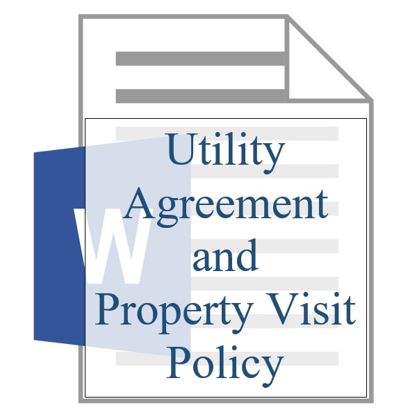 Utility Agreement And Property Policy Resident Sign Up Training