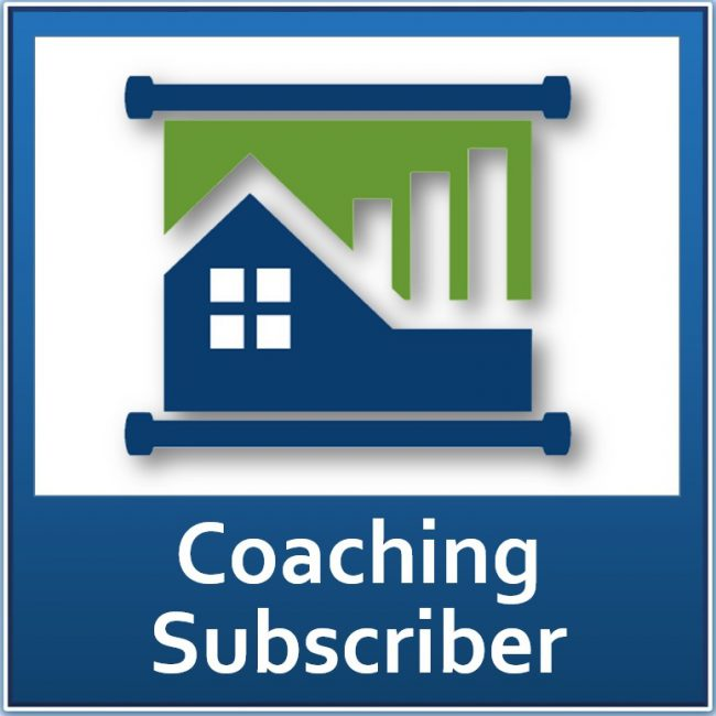 Member Coaching Subscriber Property Managers