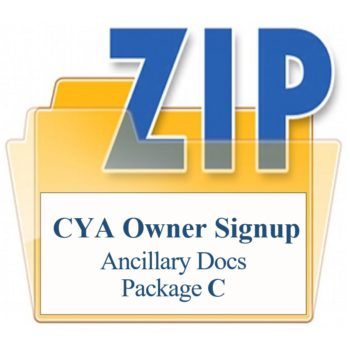 CYA Ancillary Documents Package C