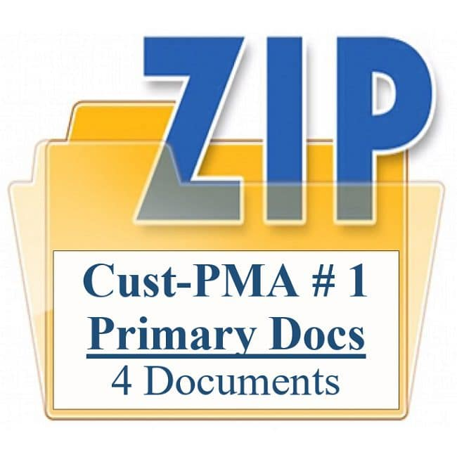 Customized Property Management Agreement Package 1