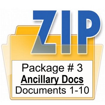 Ancillary Documents Package 3 Training Property Managers