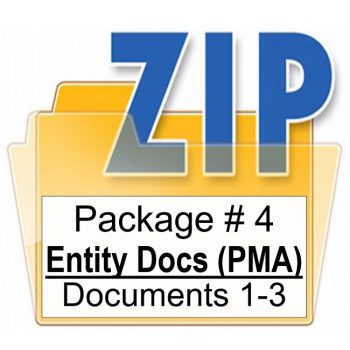 Customized PMA Entity Document Package Training Property Managers