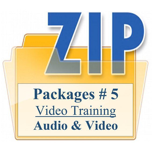 Customized PMA Video Training Package 5
