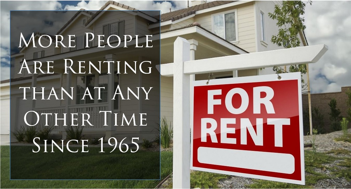 More People Are Renting than at Any Other Time Since 1965 Training Property Managers
