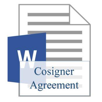 Cosigner Agreement