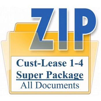 Customized Property Management Lease Agreement Super Package
