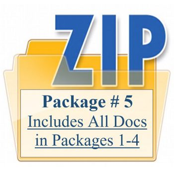 Package # 5 Includes All Docs in Packages 1-4 Customized Lease Training Property Managers
