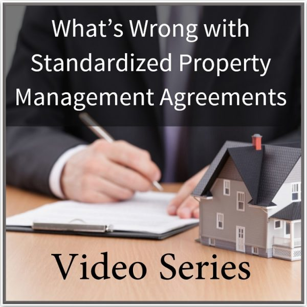 What\'s Wrong with Standard Form Management Agreements - Training ...