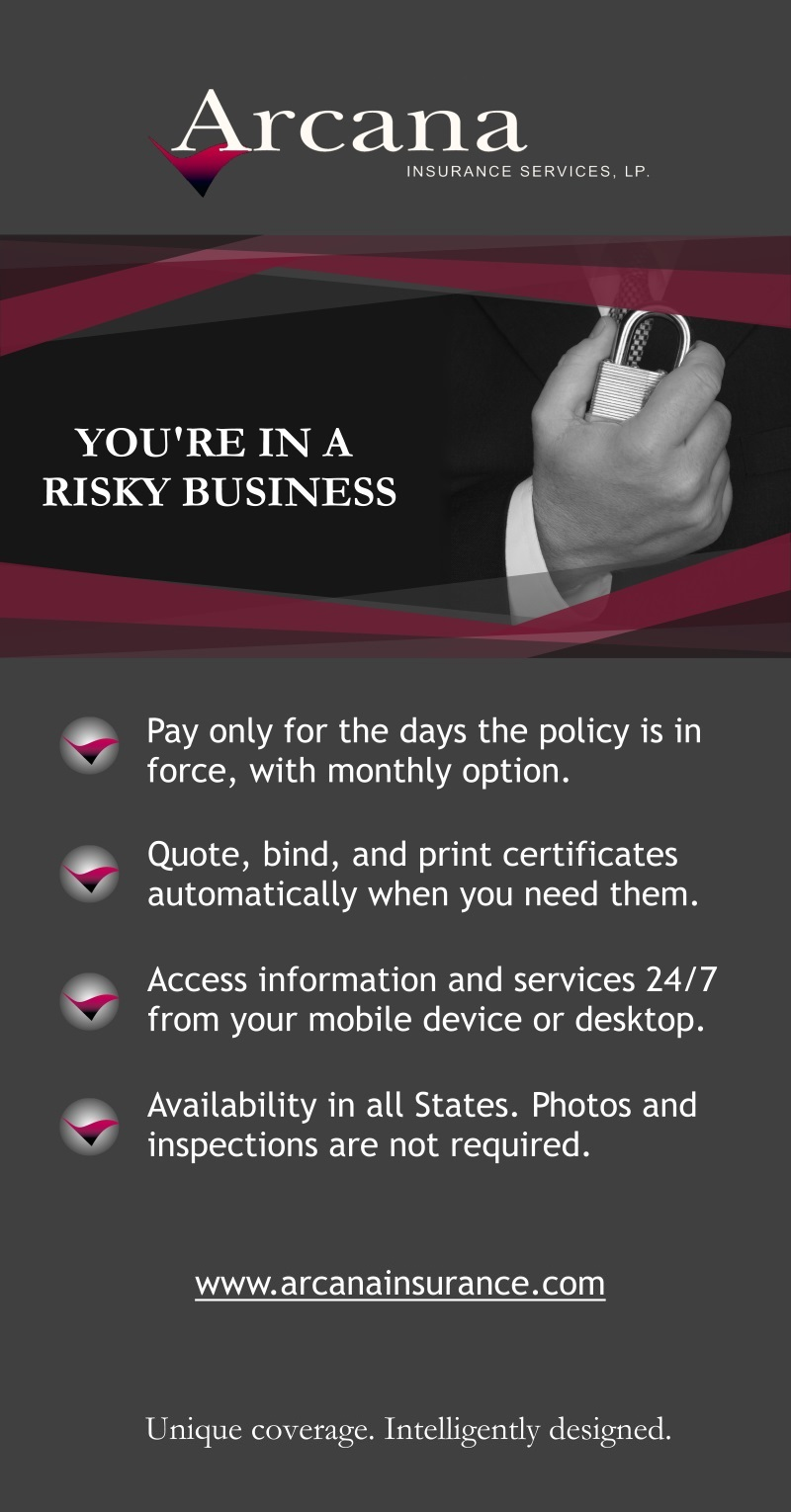 Arcana Insurance Services Training Property Managers Quote Bind Print Certificates Master Property Insurance