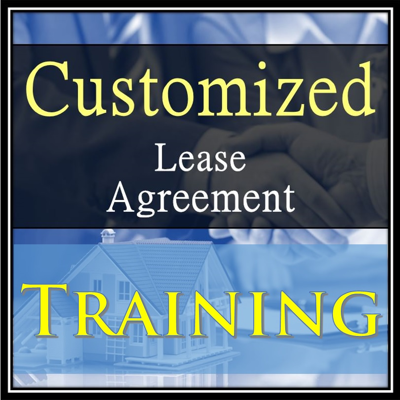 Customized Lease Agreement Training Robert Locke Mpm Crown Investor