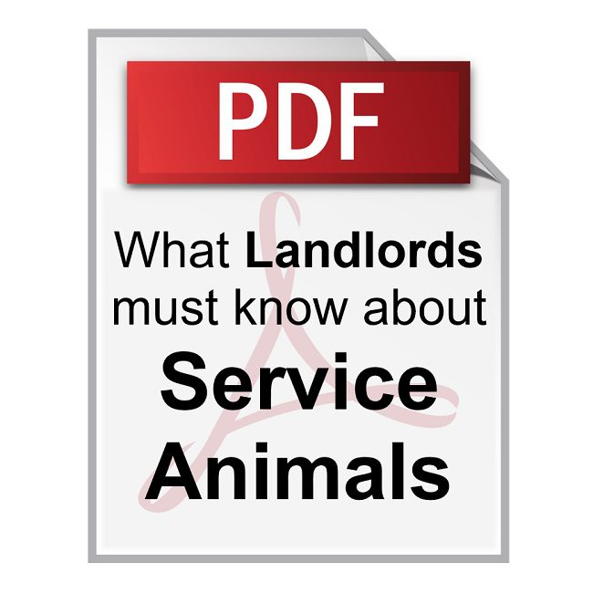 Product What Landlords Must Know about Service Animals