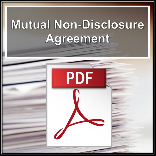 Mutual Non-Disclosure Agreement Consulting with Robert Locke Training Property Managers