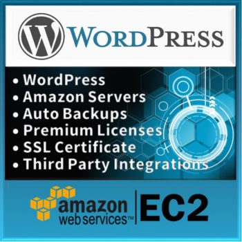 Product WordPress Website on Amazon Server Logo