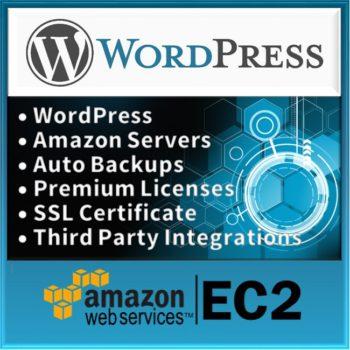 Product WordPress Website on Amazon Server Logo
