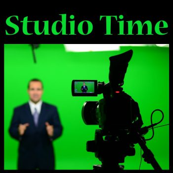 Studio Time Teleprompter News Desk Monitor Training Property Managers Four and Half Video SEO