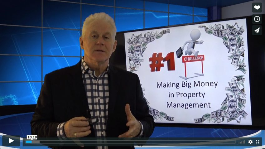 The Secret to Making BIG Money in Property Management Training Property Managers