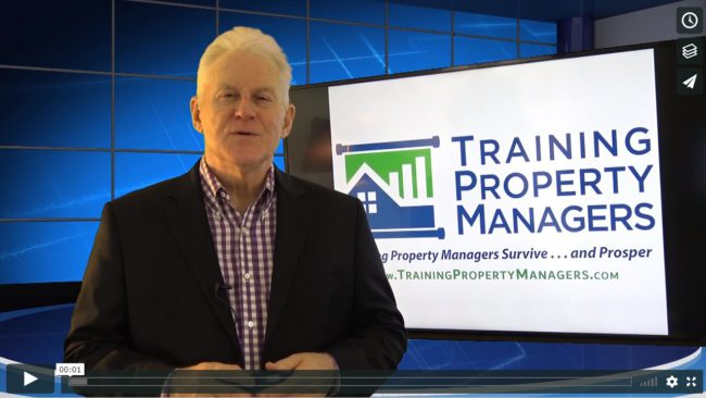 Why Listen to Robert Training Property Managers