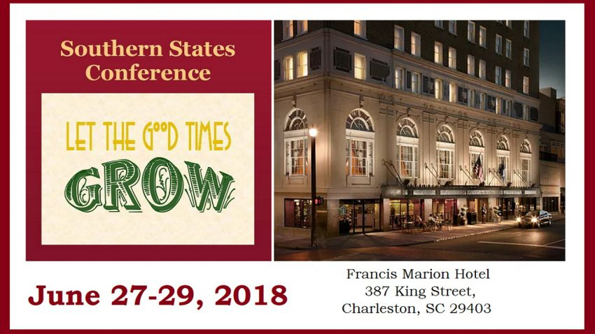 NARPM Southern States Conference And Trade Show Charleston NC June 17-19 2018