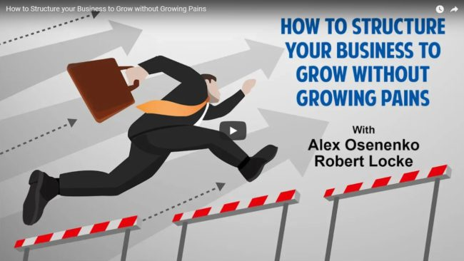How to Structure your Business to Grow without Growing Pains by Four and a Half