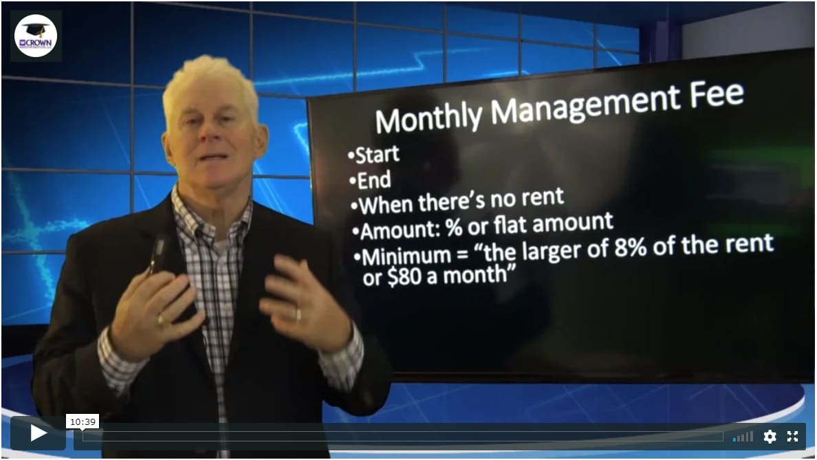 Building a Customized Property Management Agreement Commissions Management Fees
