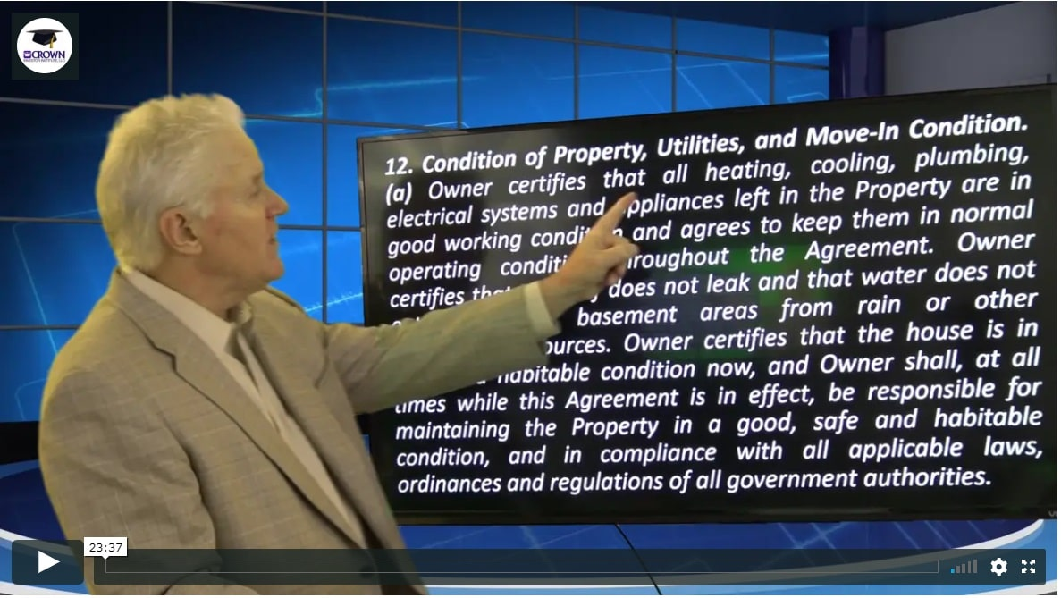 Building a Customized Property Management Agreement Condition of property utilities management plus managing 3rd party relationships