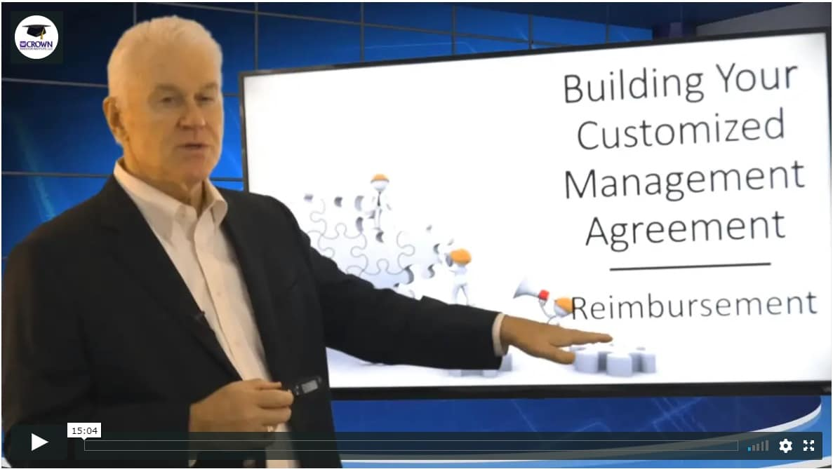 Building a Customized Property Management Agreement Reimbursements