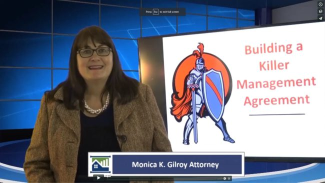 Killer Management Agreement Series Monica Gilroy on What Labels to Use in Contracts
