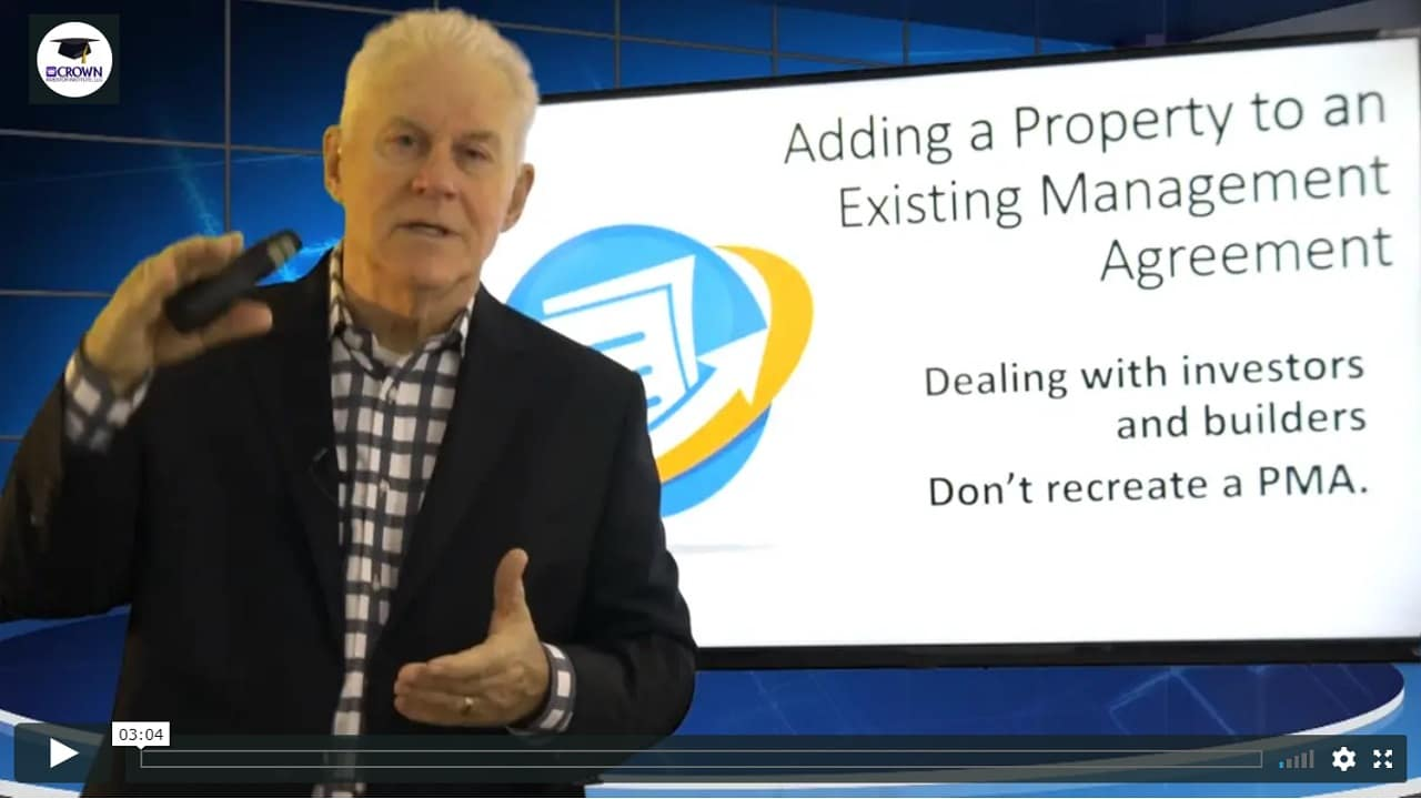 Building a Customized Property Management Agreement Notices and Final Wrap Up