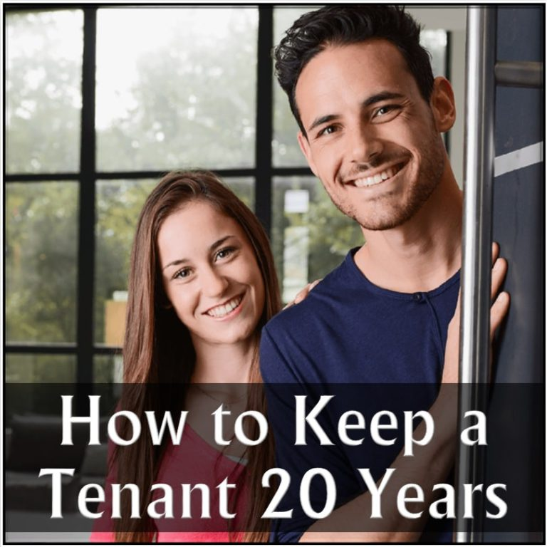 How to Keep a Tenant 20 Years Robert Locke Crown Investor Institute Training Property Managers