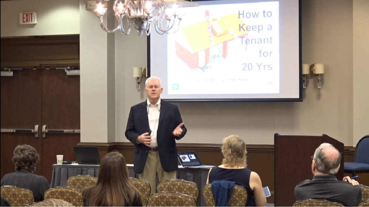How to Keep a Tenant 20 Years Robert Locke MPM RPM Training Property Managers