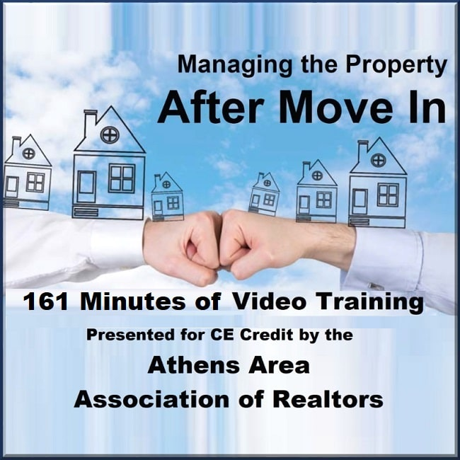 Managing the Property After Move In