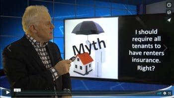 Myth 17 Must Tenants Buy Renters Insurance